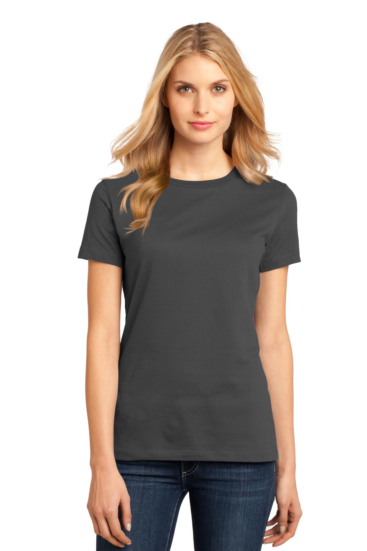 District ®  Women's Perfect Weight ® Tee. DM104L - Charcoal