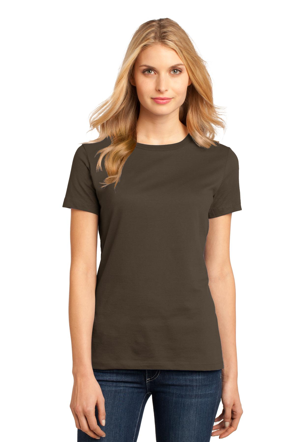 District ®  Women's Perfect Weight ® Tee. DM104L - Espresso