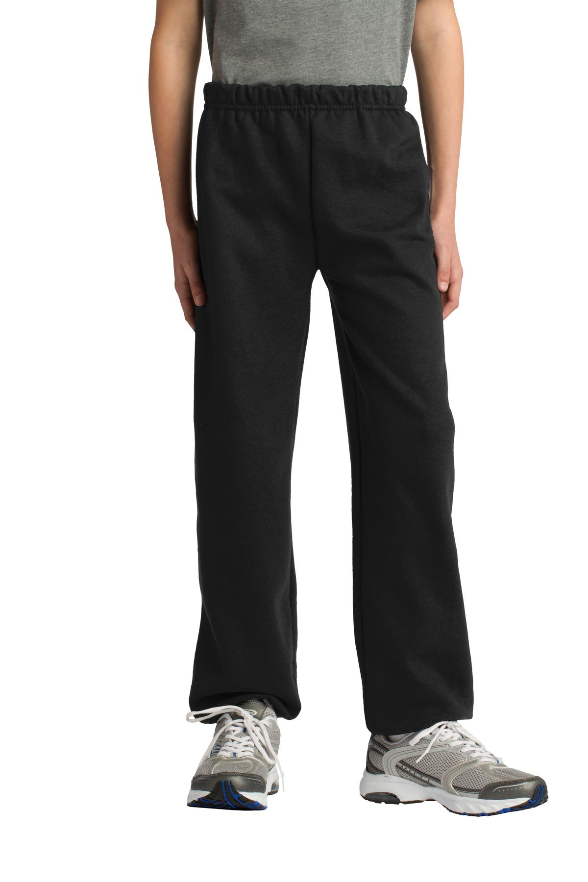 Gildan ®  Youth Heavy Blend™ Sweatpant. 18200B - Black