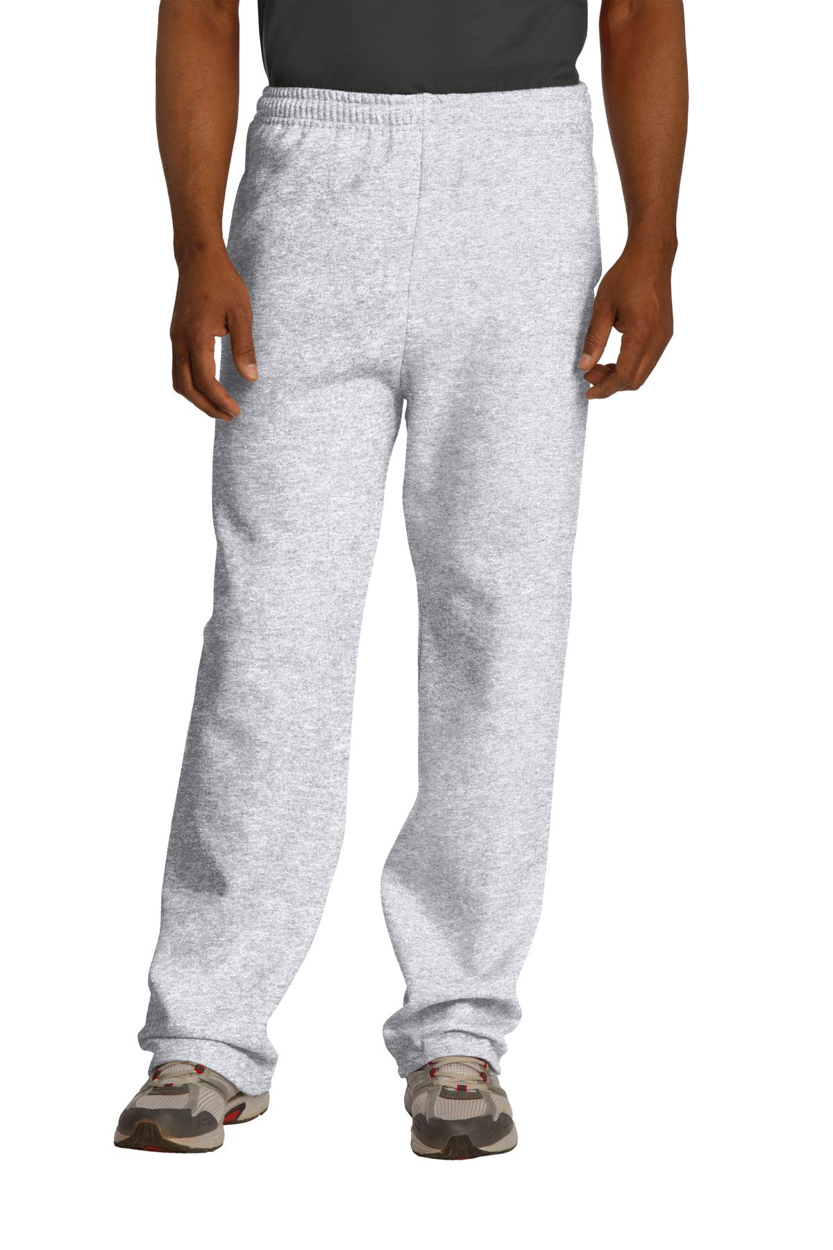 JERZEES ®  NuBlend ®  Open Bottom Pant with Pockets. 974MP - Ash