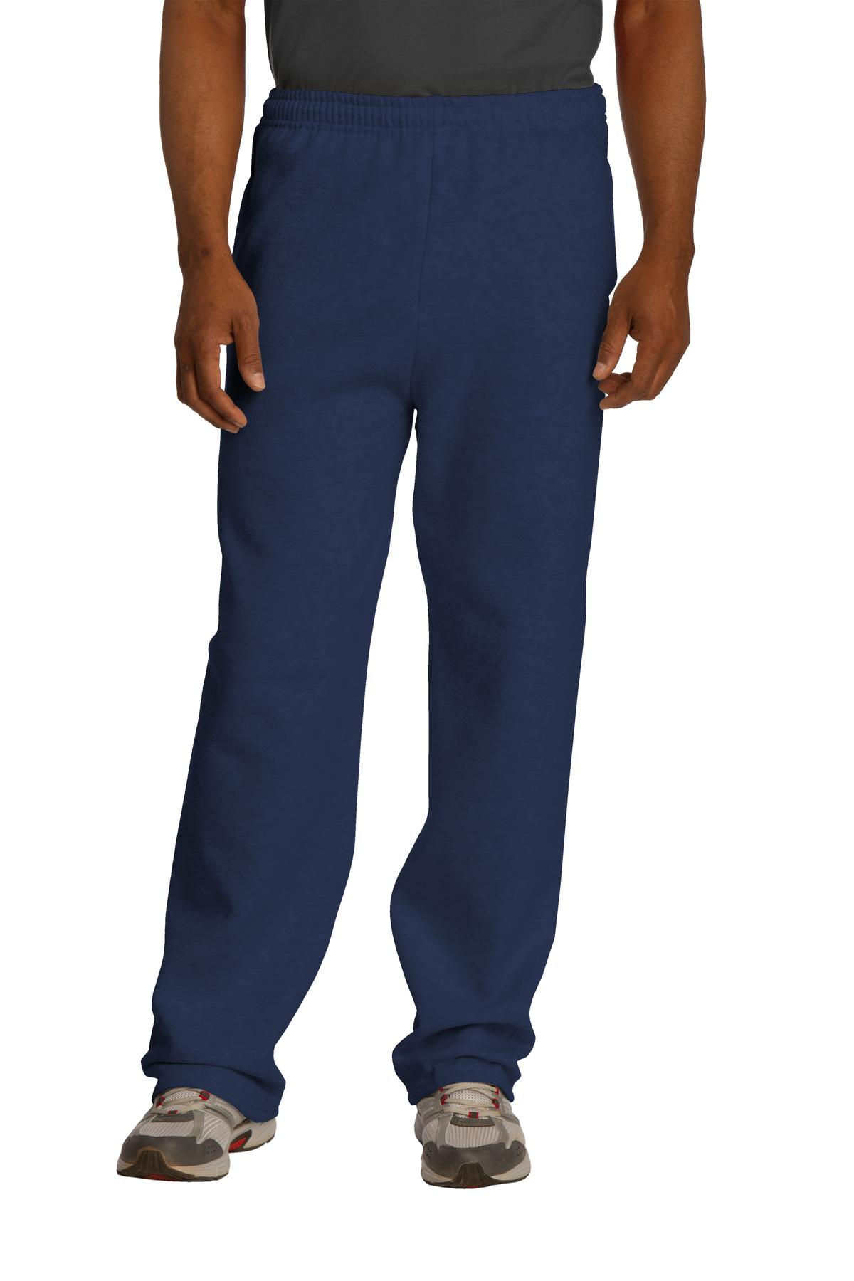 JERZEES ®  NuBlend ®  Open Bottom Pant with Pockets. 974MP - Navy