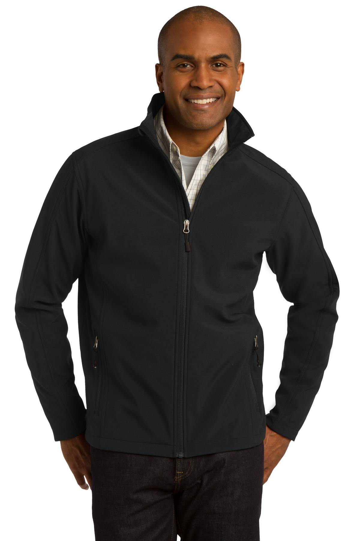Port Authority Tall Core Soft Shell Jacket. TLJ317
