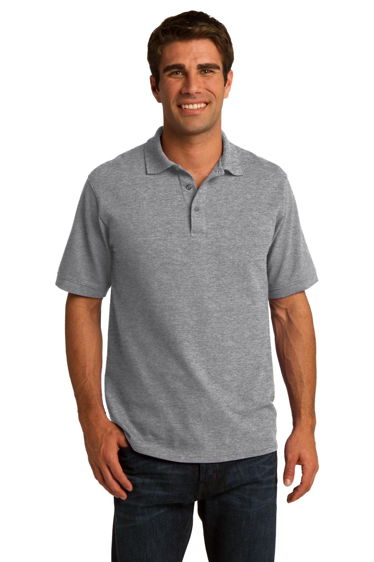 Port & Company ®  Core Blend Pique Polo. KP155 - Athletic Heather