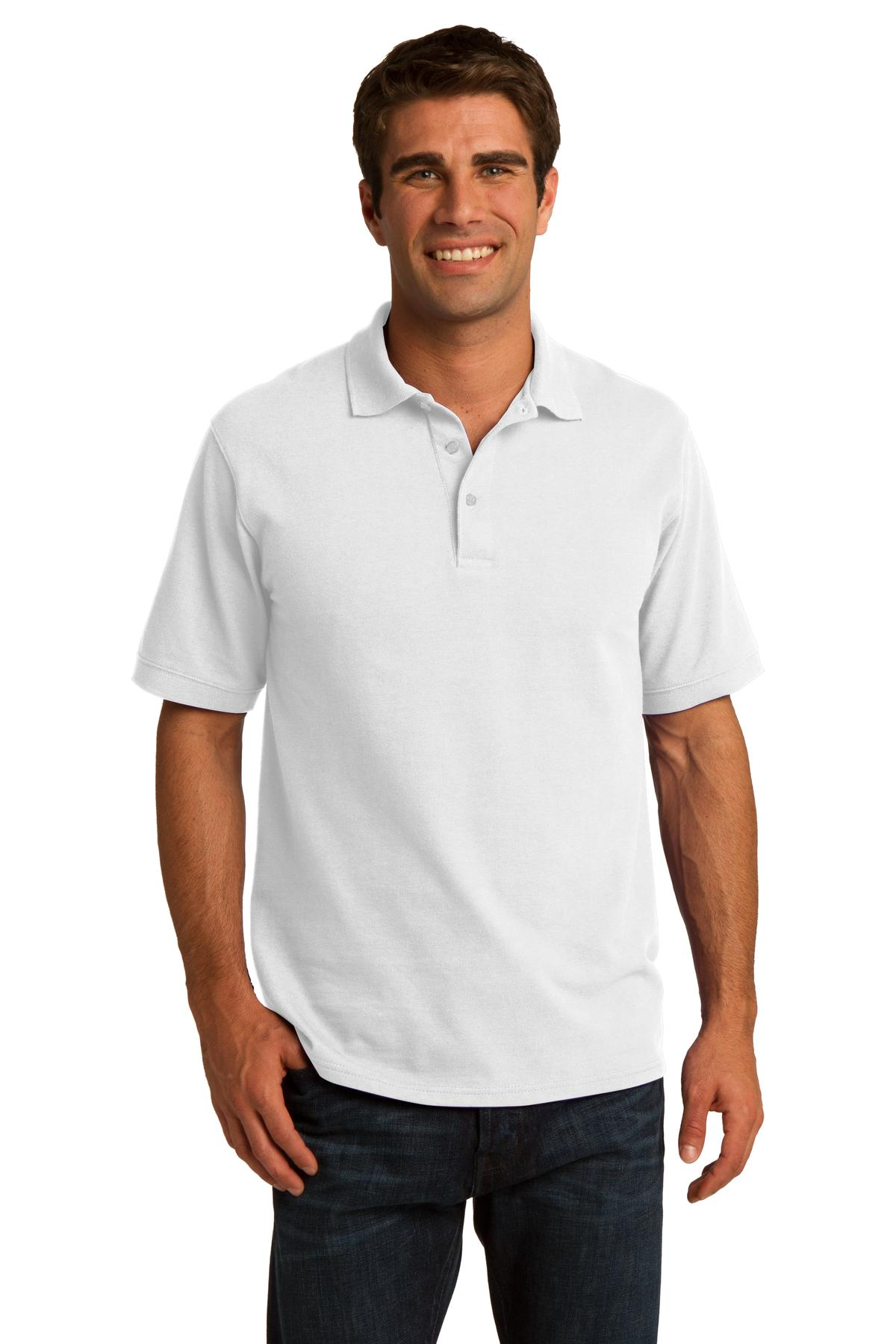 Port & Company ®  Core Blend Pique Polo. KP155 - White