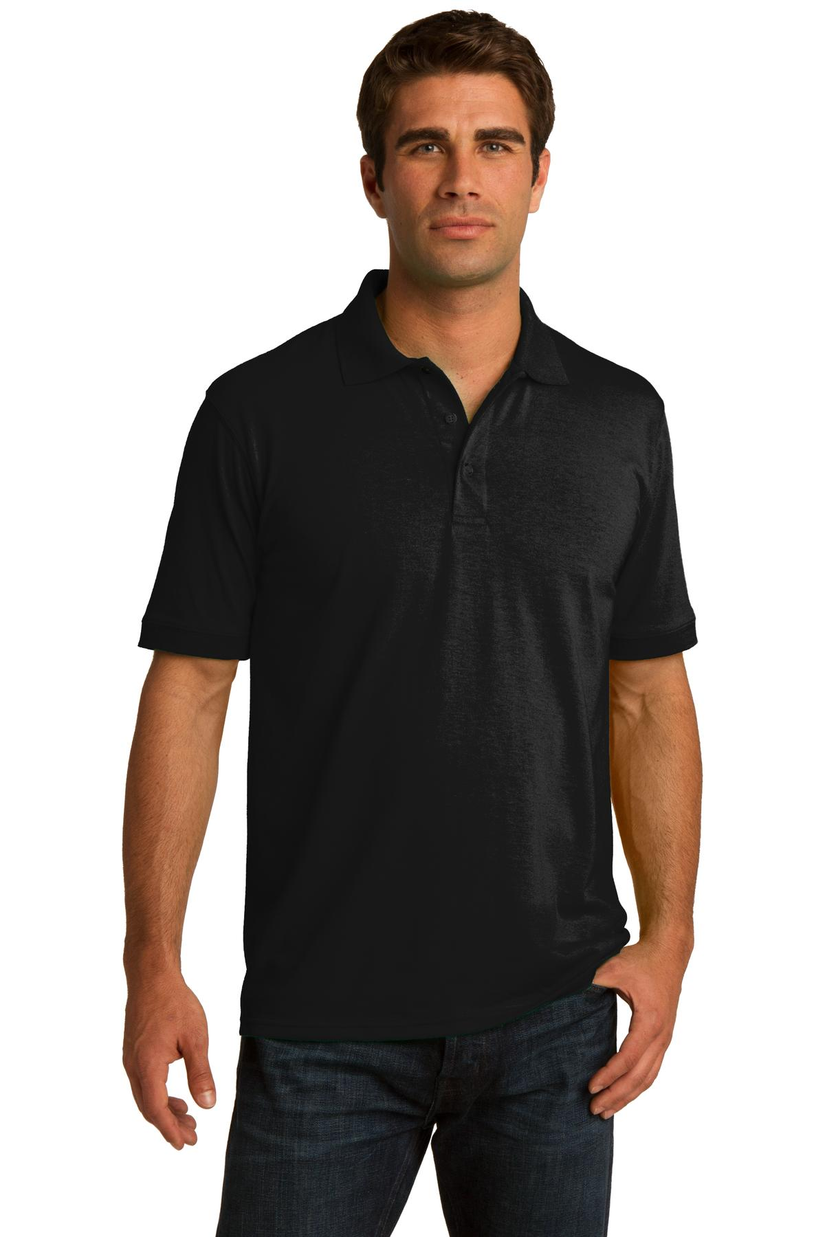 Port and Company Tall Core Blend Jersey Knit Polo. KP55T