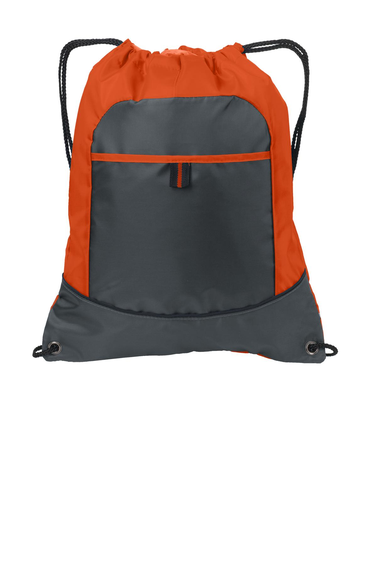 Port Authority Pocket Cinch Pack. BG611