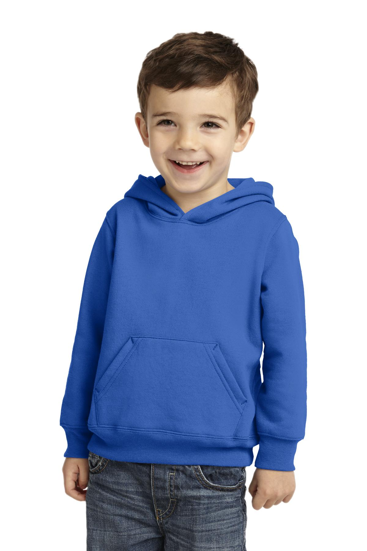 Port & Company Toddler Core Fleece Pullover Hooded Sweatshirt. CAR78TH