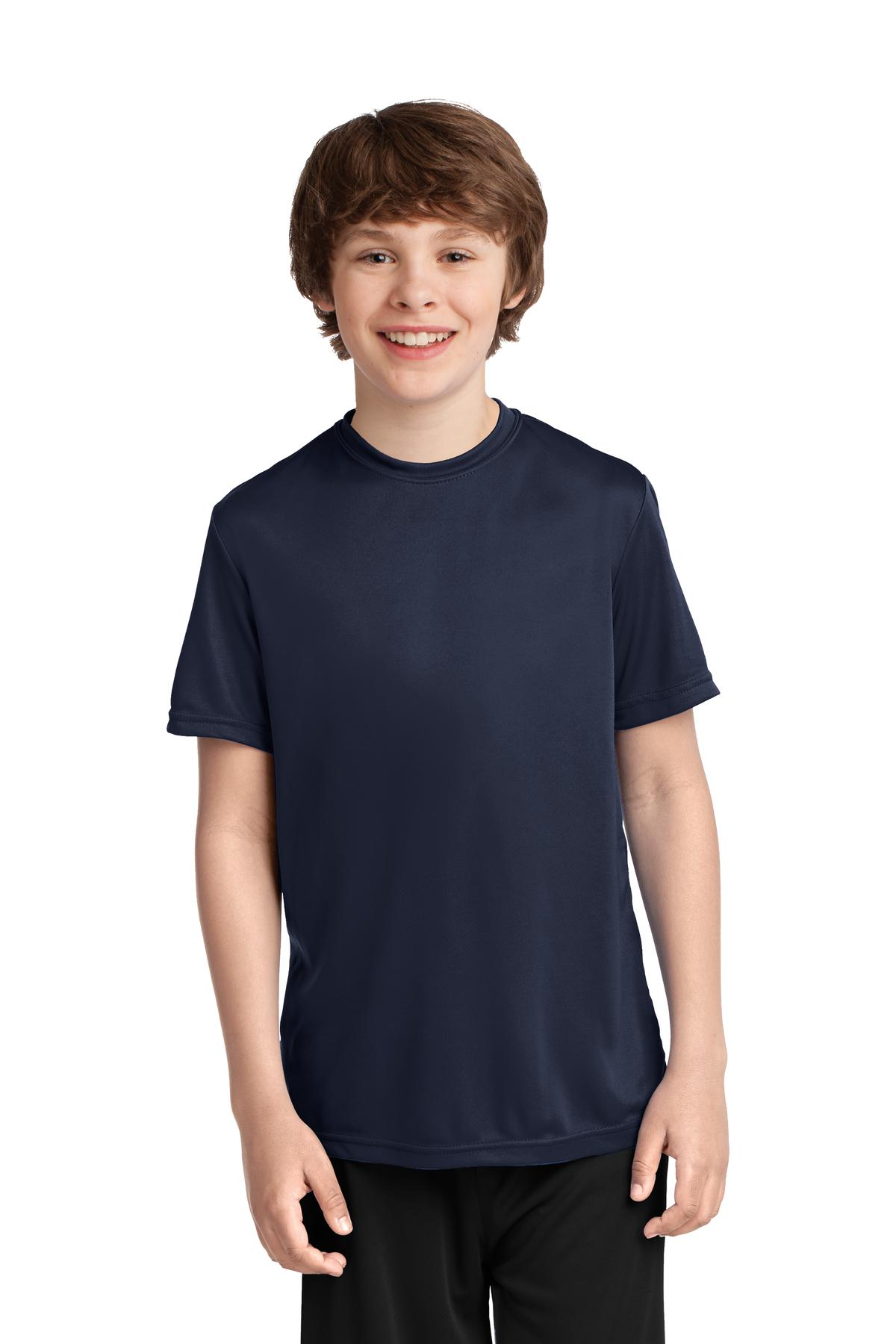 Port & Company ®  Youth Performance Tee. PC380Y - Deep Navy