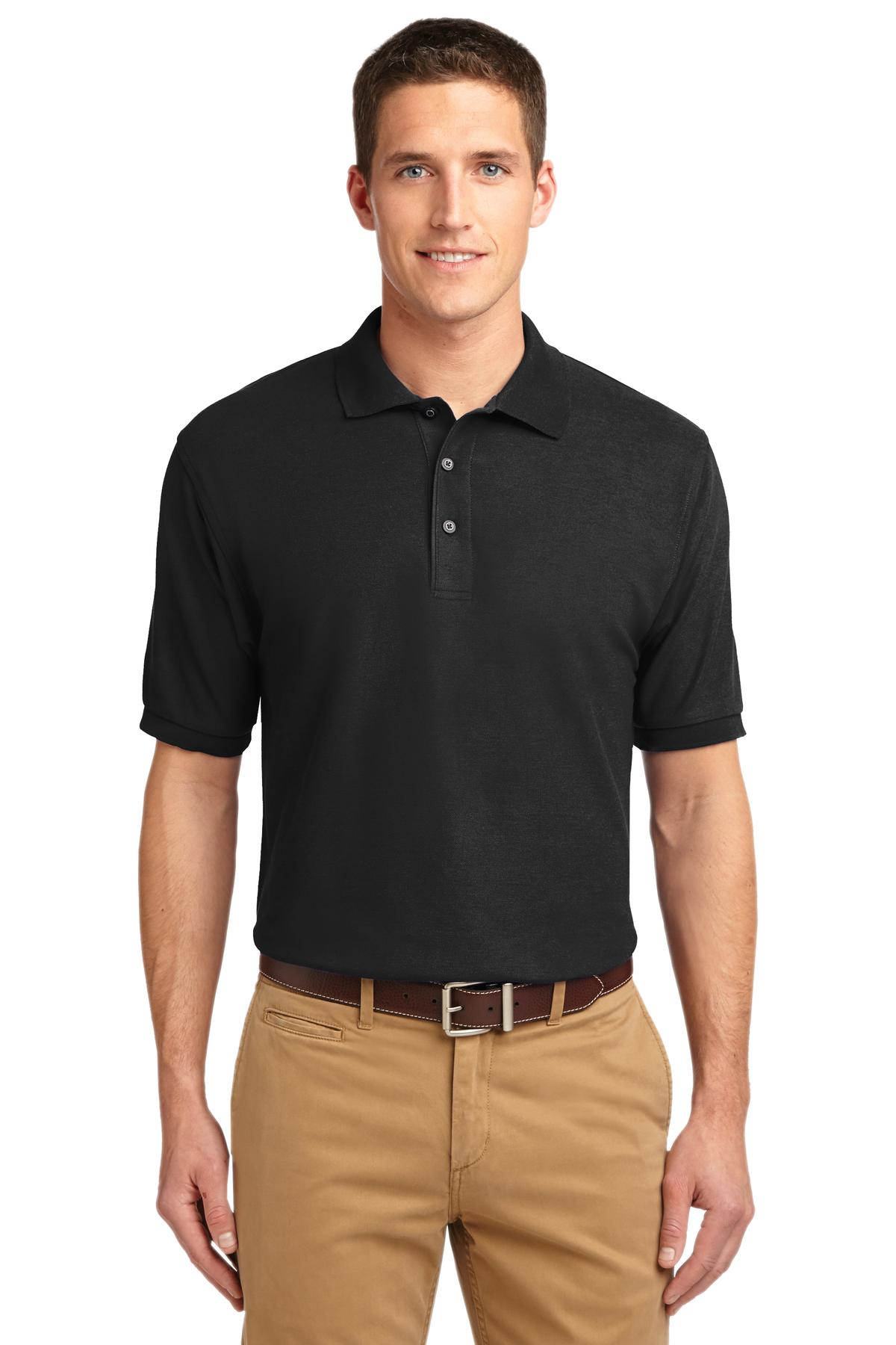 Port Authority ®  Silk Touch™ Polo.  K500 - Black
