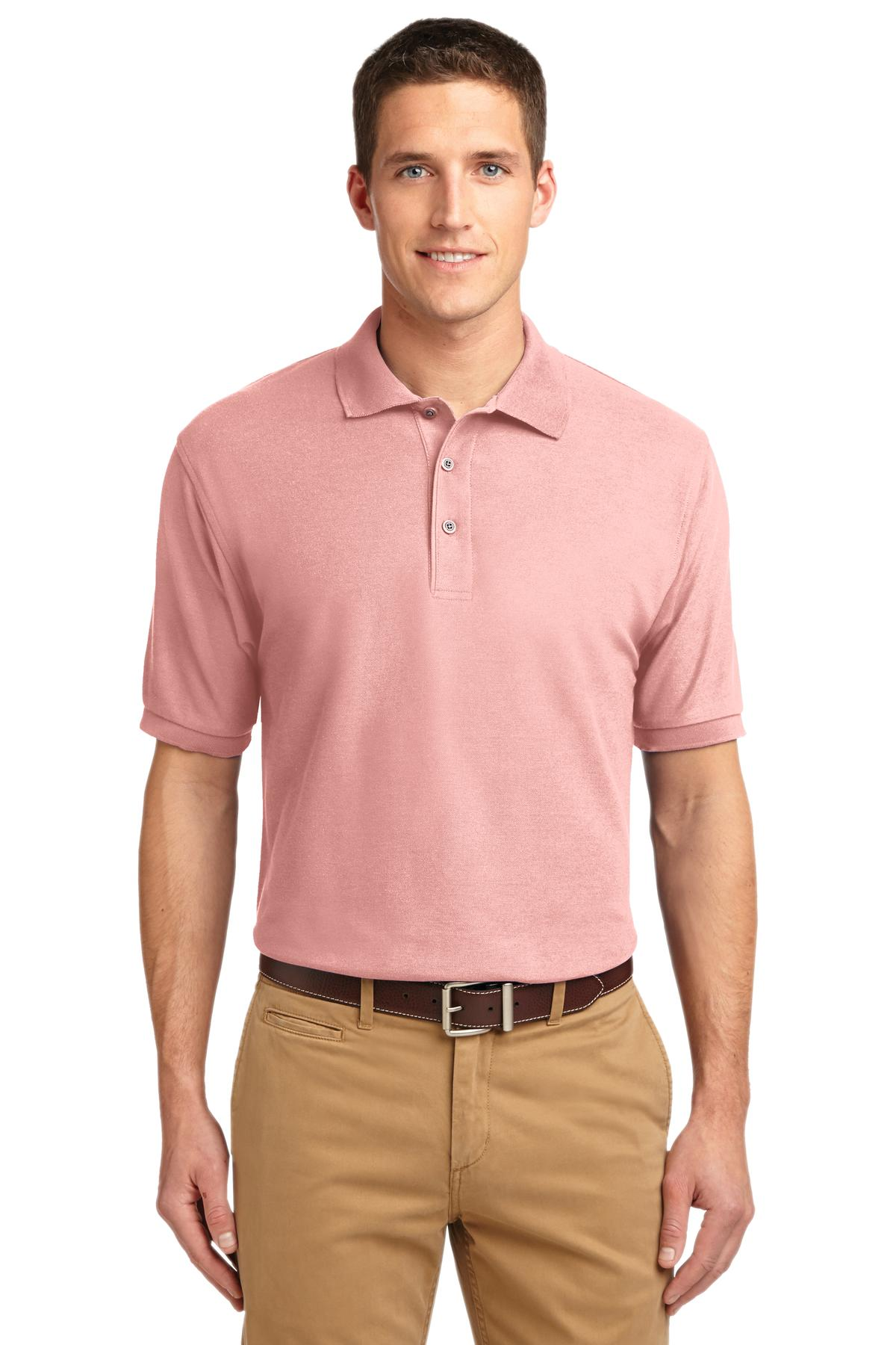 Port Authority ®  Extended Size Silk Touch™ Polo.   K500ES - Light Pink