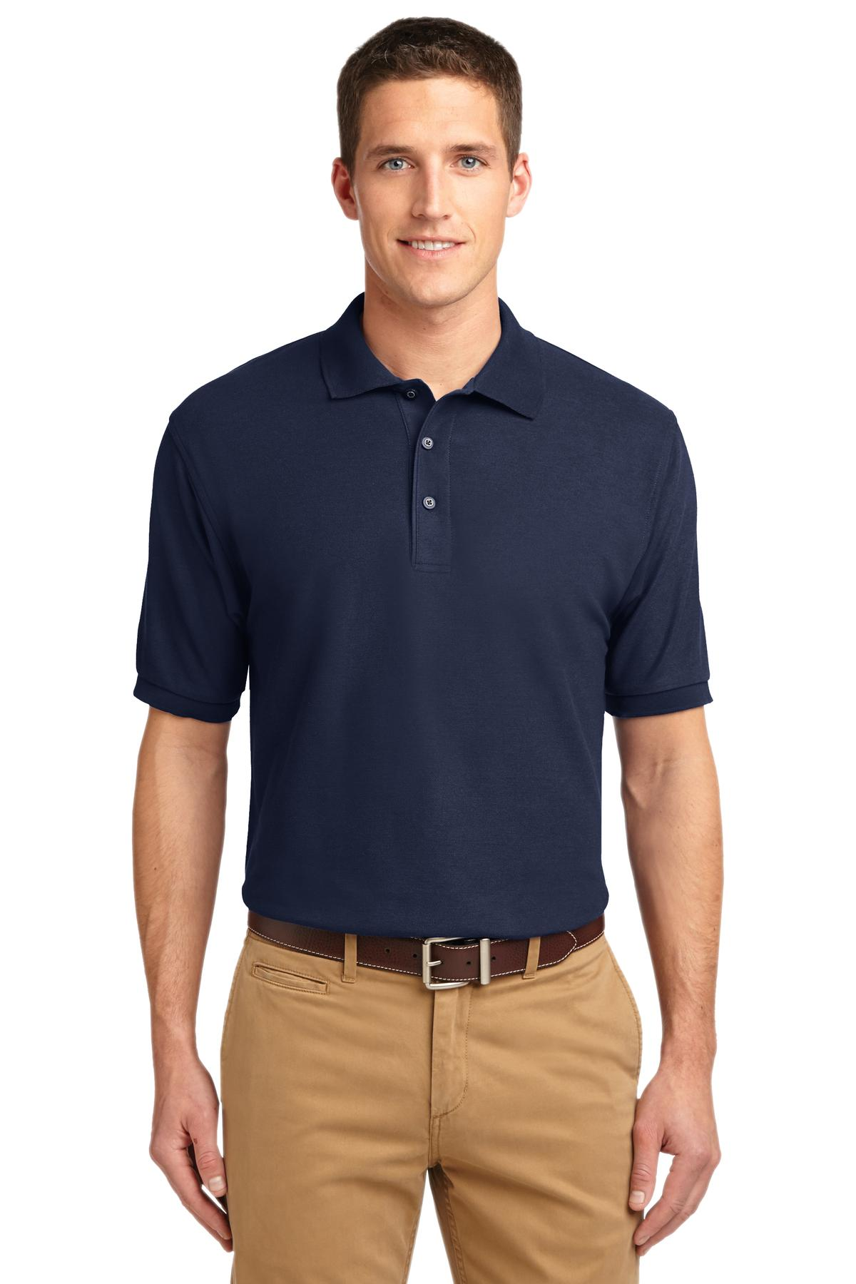 Port Authority Extended Size Silk Touch Polo. K500ES