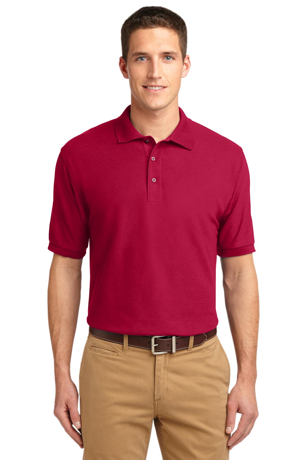 Port Authority ®  Silk Touch™ Polo.  K500 - Red