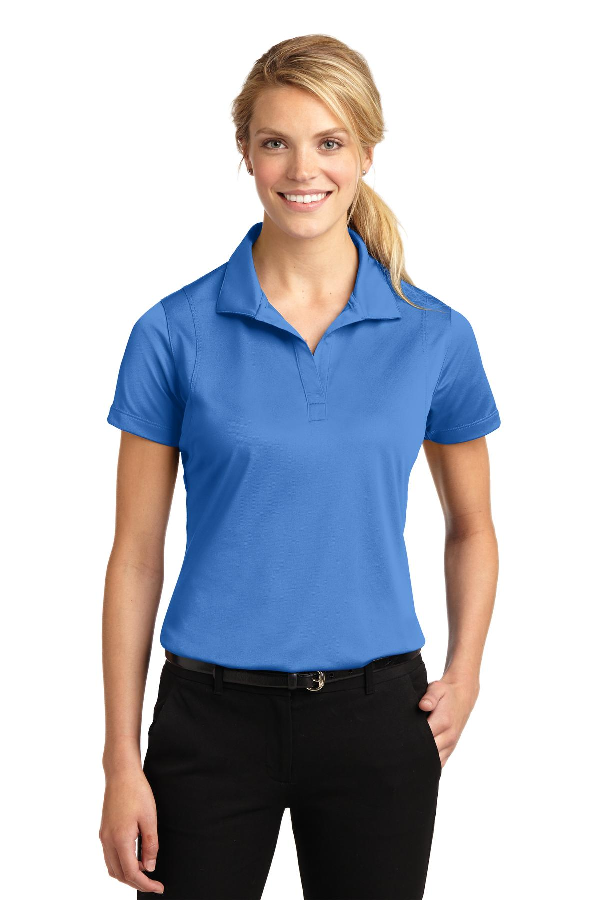 Sport-Tek ®  Ladies Micropique Sport-Wick ®  Polo. LST650 - Blue Lake