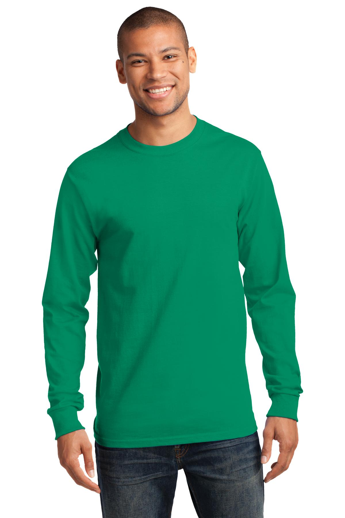 Port and Company - Long Sleeve Essential Tee. PC61LS