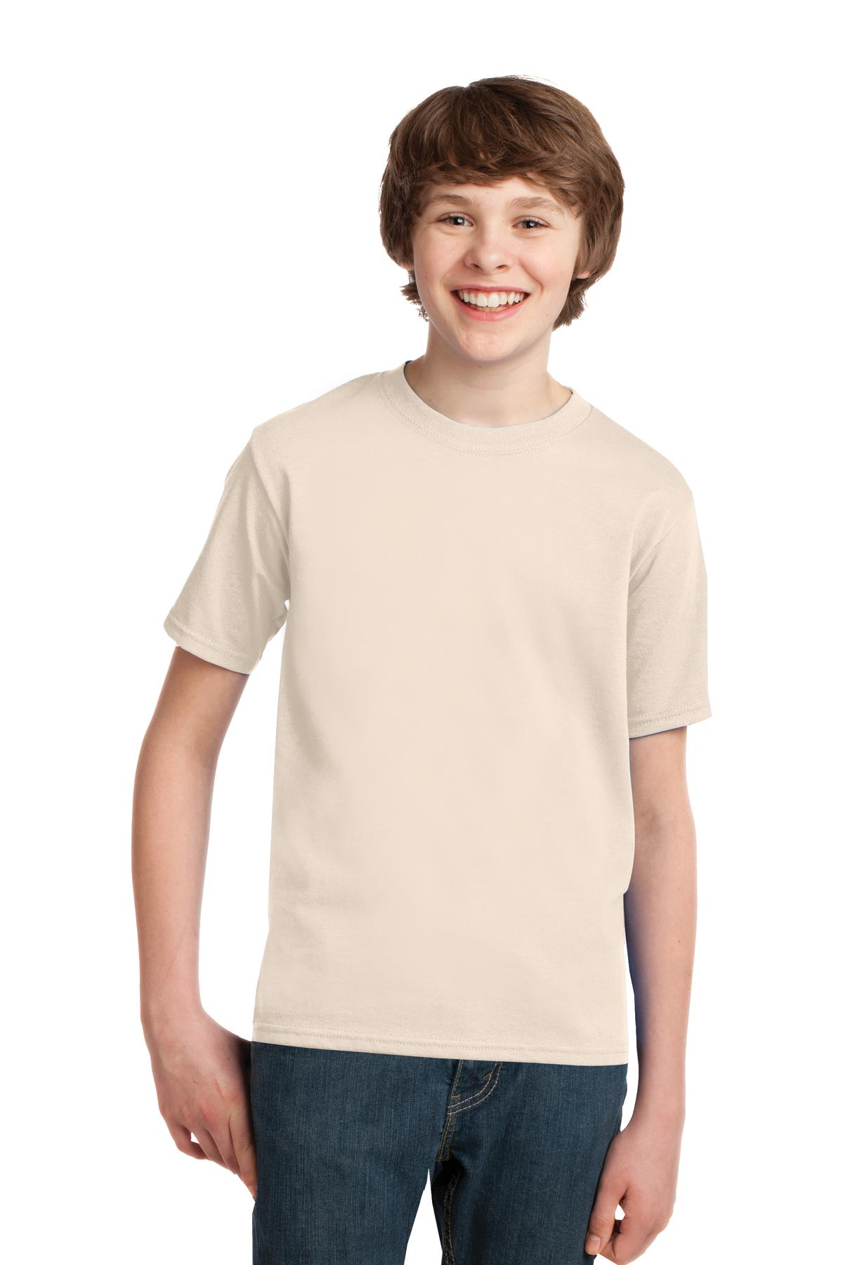 Port and Company - Youth Essential Tee. PC61Y