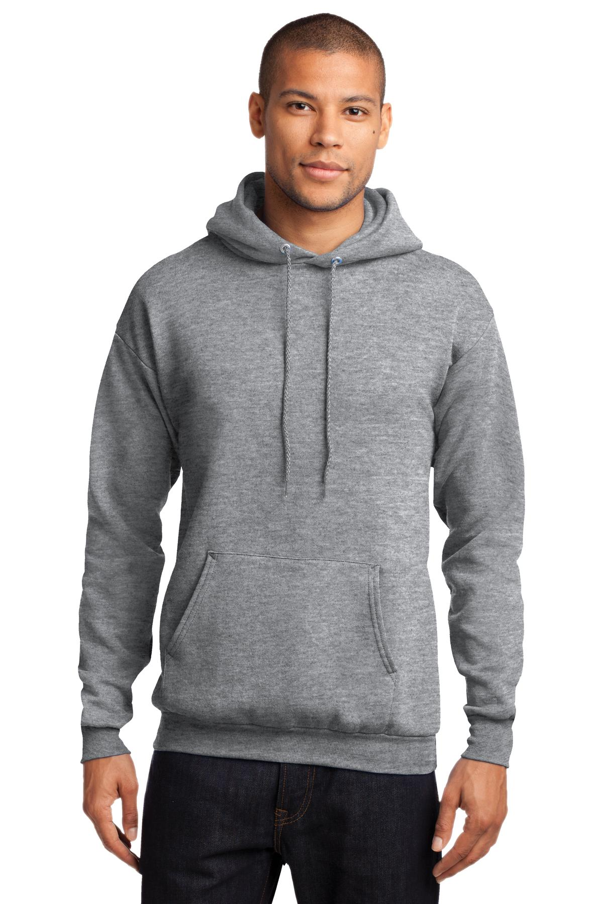 Port & Company ®  - Core Fleece Pullover Hooded Sweatshirt. PC78H - Athletic Heather