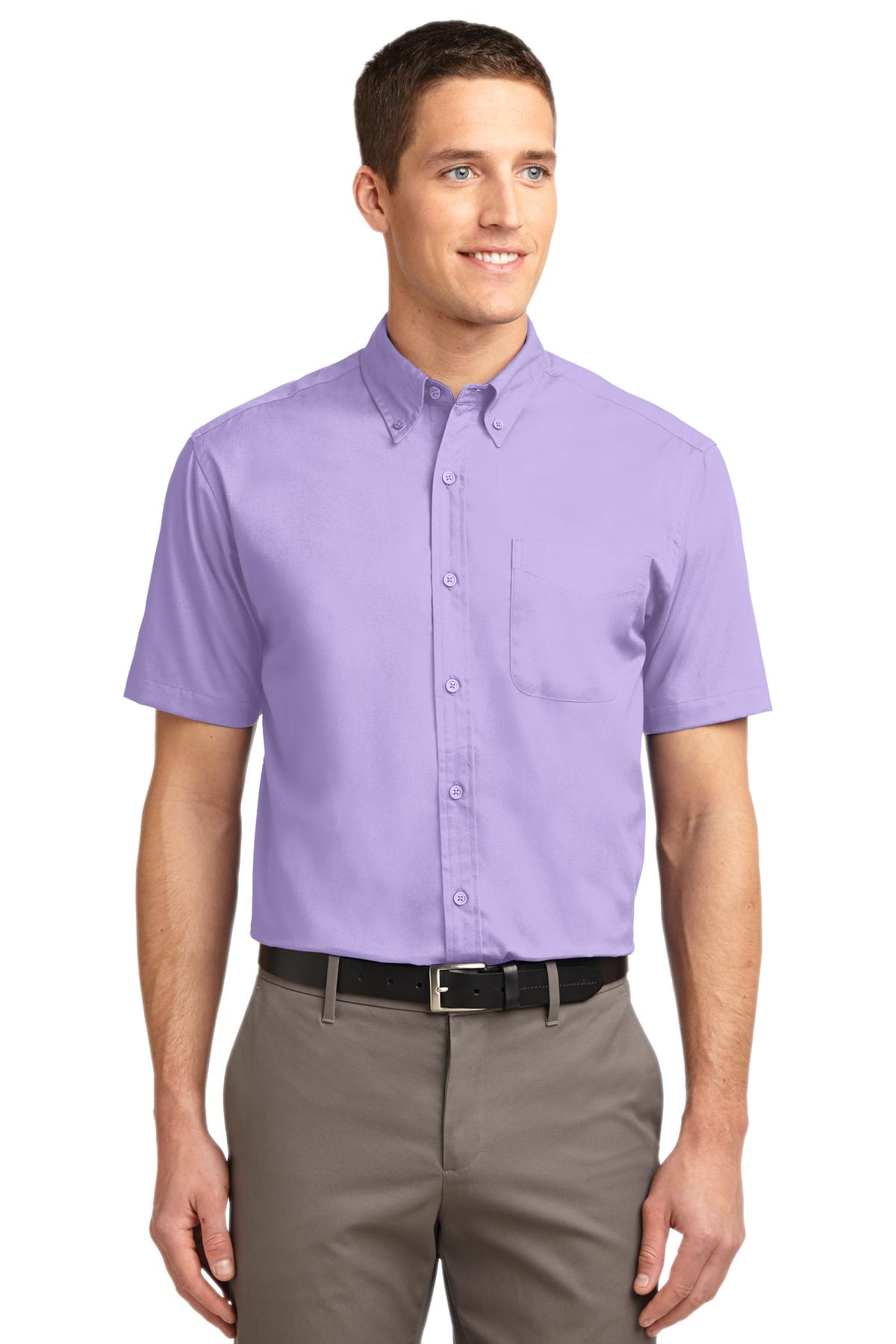 Port Authority ®  Short Sleeve Easy Care Shirt.  S508 - Bright Lavender