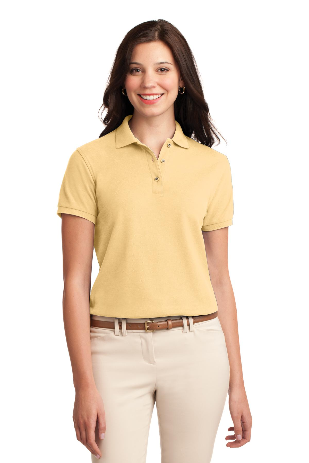 Port Authority ®  Ladies Silk Touch™ Polo.  L500 - Banana