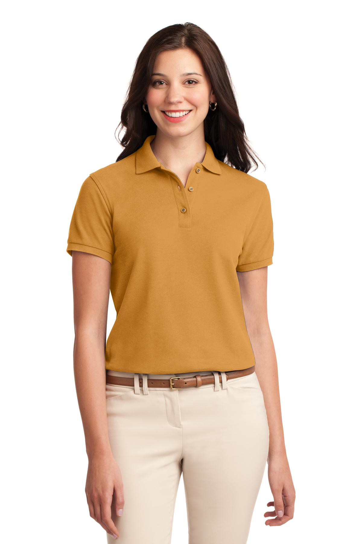 Port Authority ®  Ladies Silk Touch™ Polo.  L500 - Gold