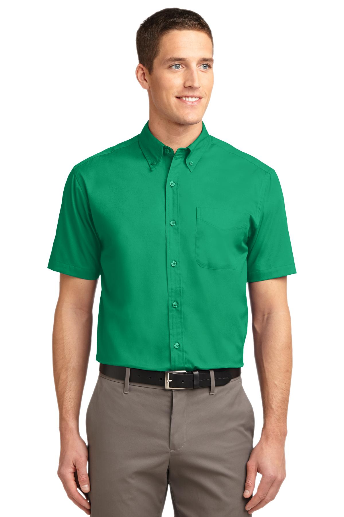Port Authority ®  Short Sleeve Easy Care Shirt.  S508 - Court Green