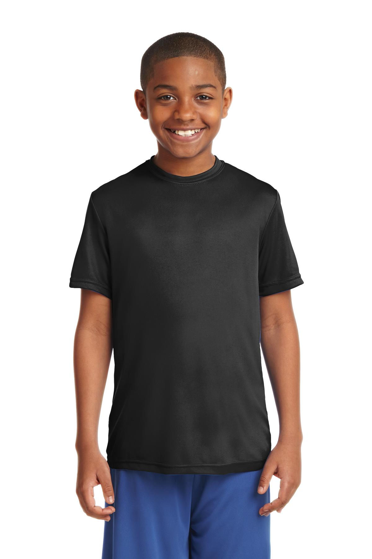 Sport-Tek ®  Youth PosiCharge ®  Competitor™ Tee. YST350 - Black