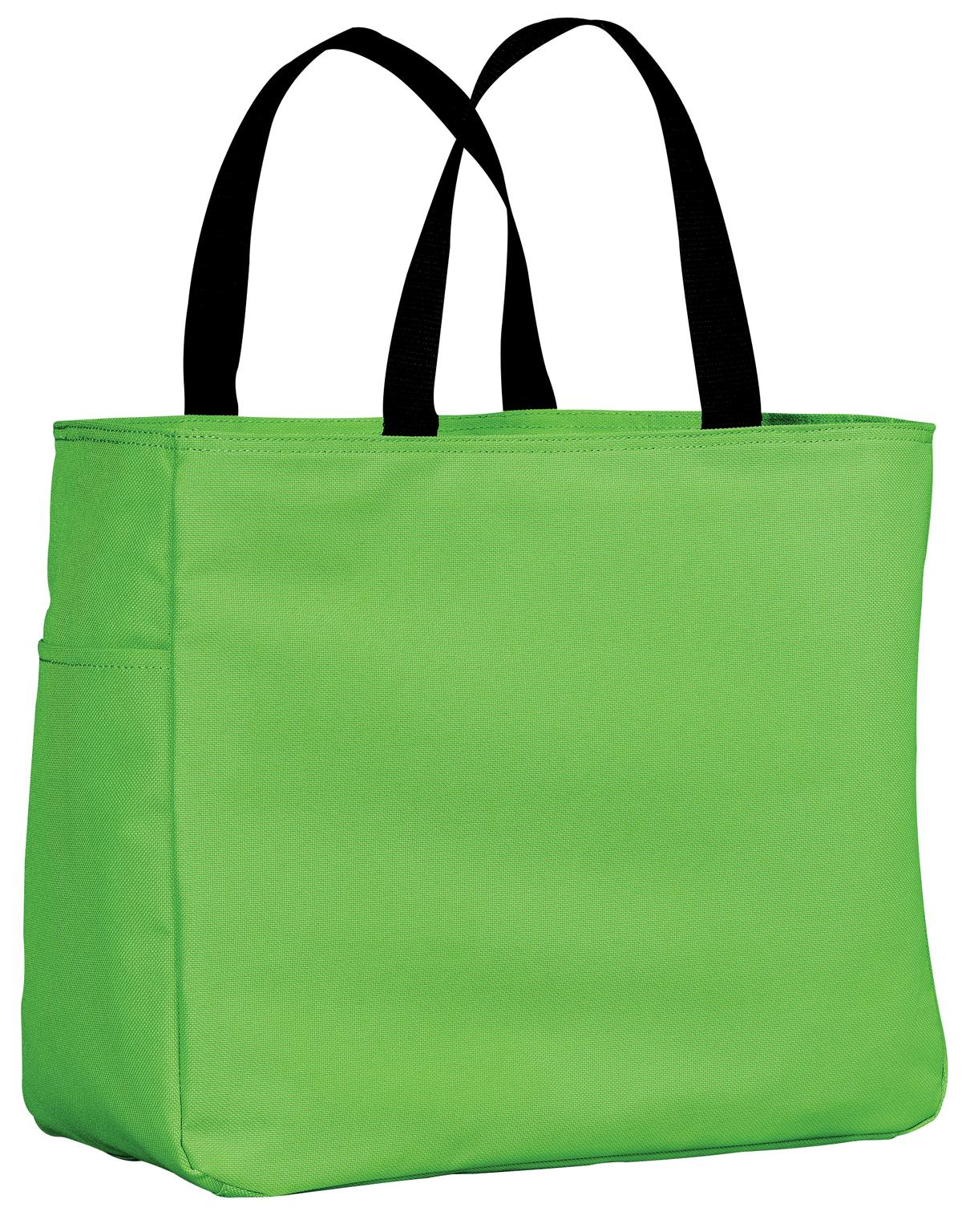 Port Authority ®  -  Essential Tote.  B0750 - Bright Lime