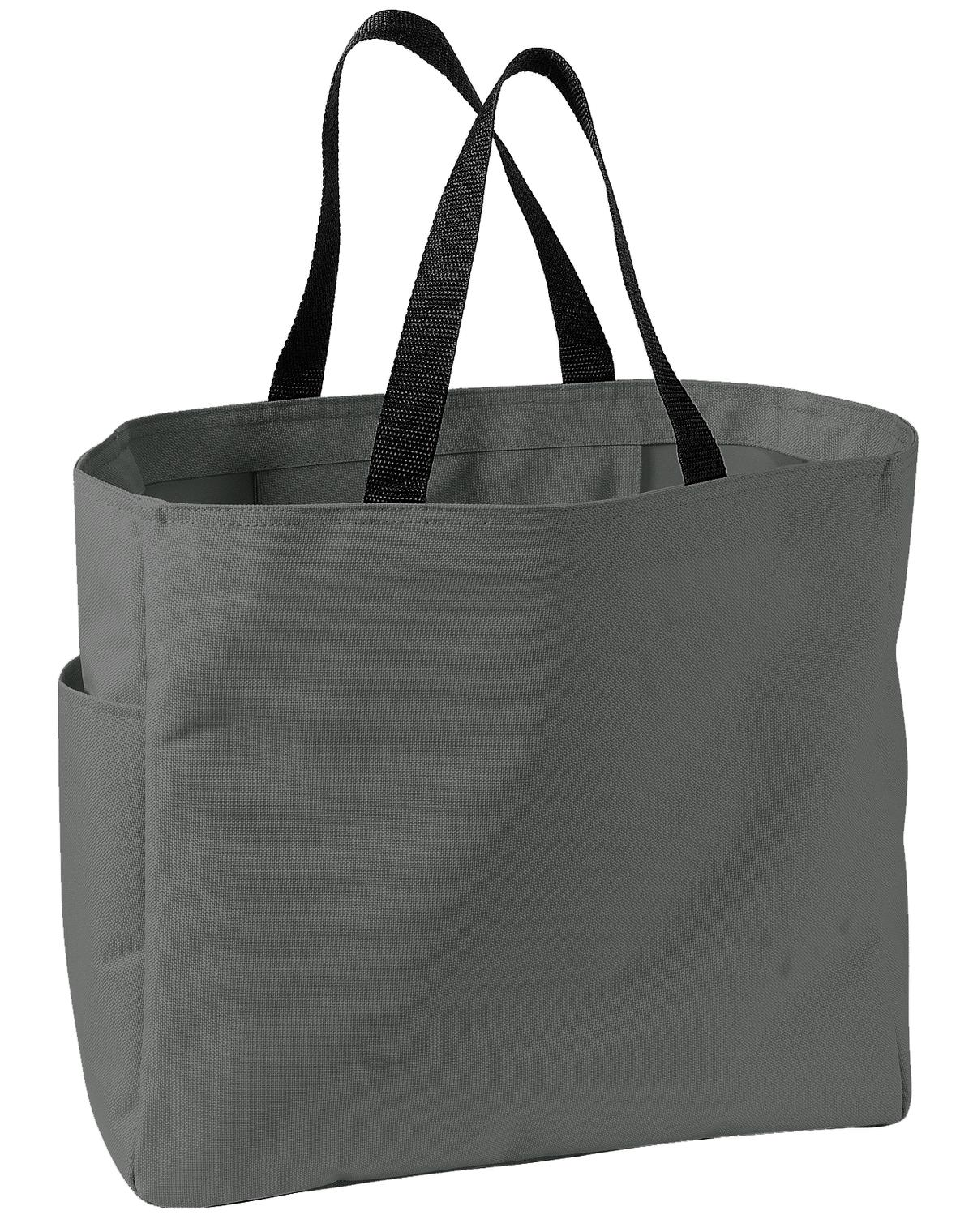 Port Authority ®  -  Essential Tote.  B0750 - Charcoal