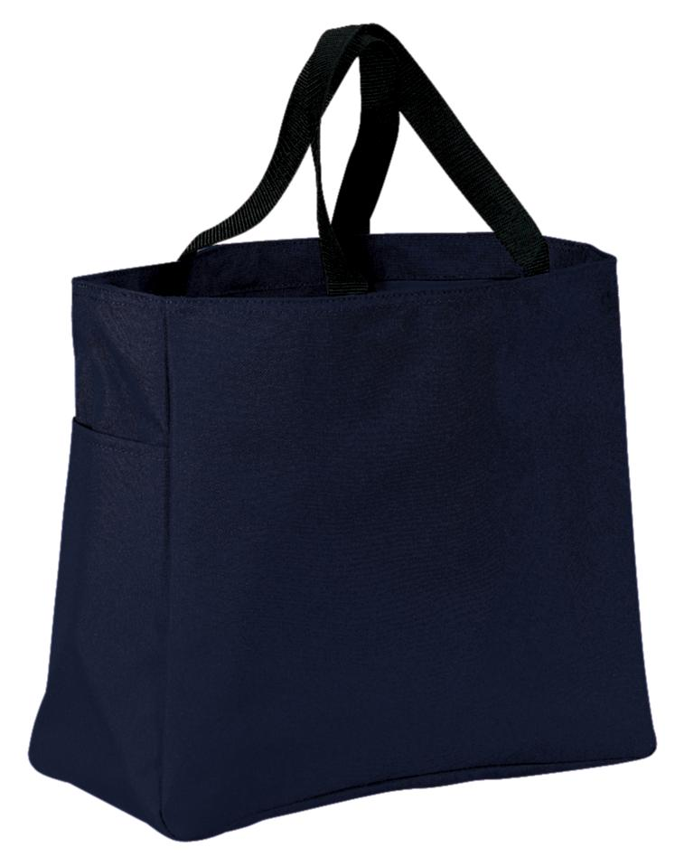Port Authority ®  -  Essential Tote.  B0750 - Navy