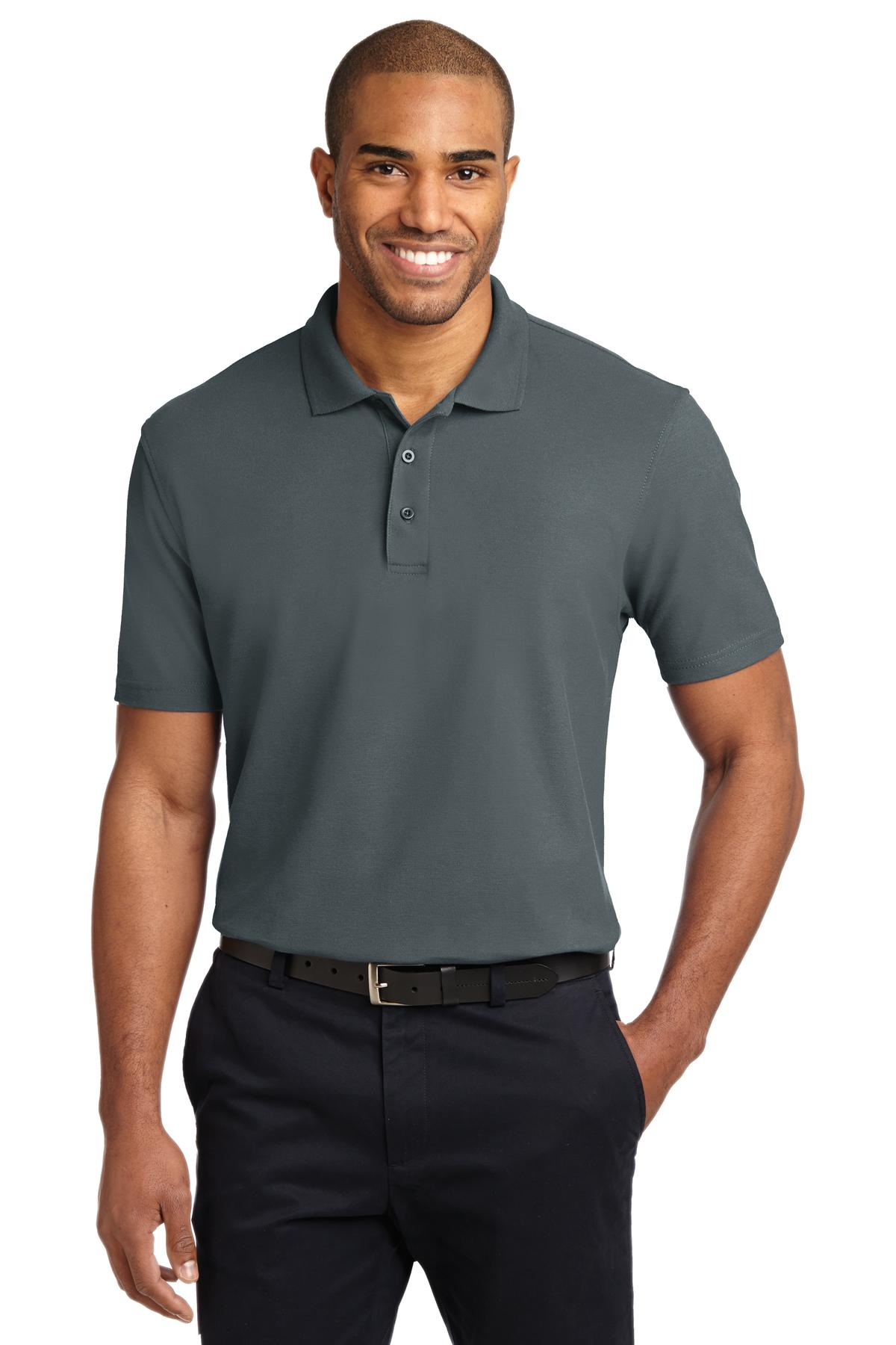 Port Authority ®  Stain-Release Polo. K510 - Steel Grey