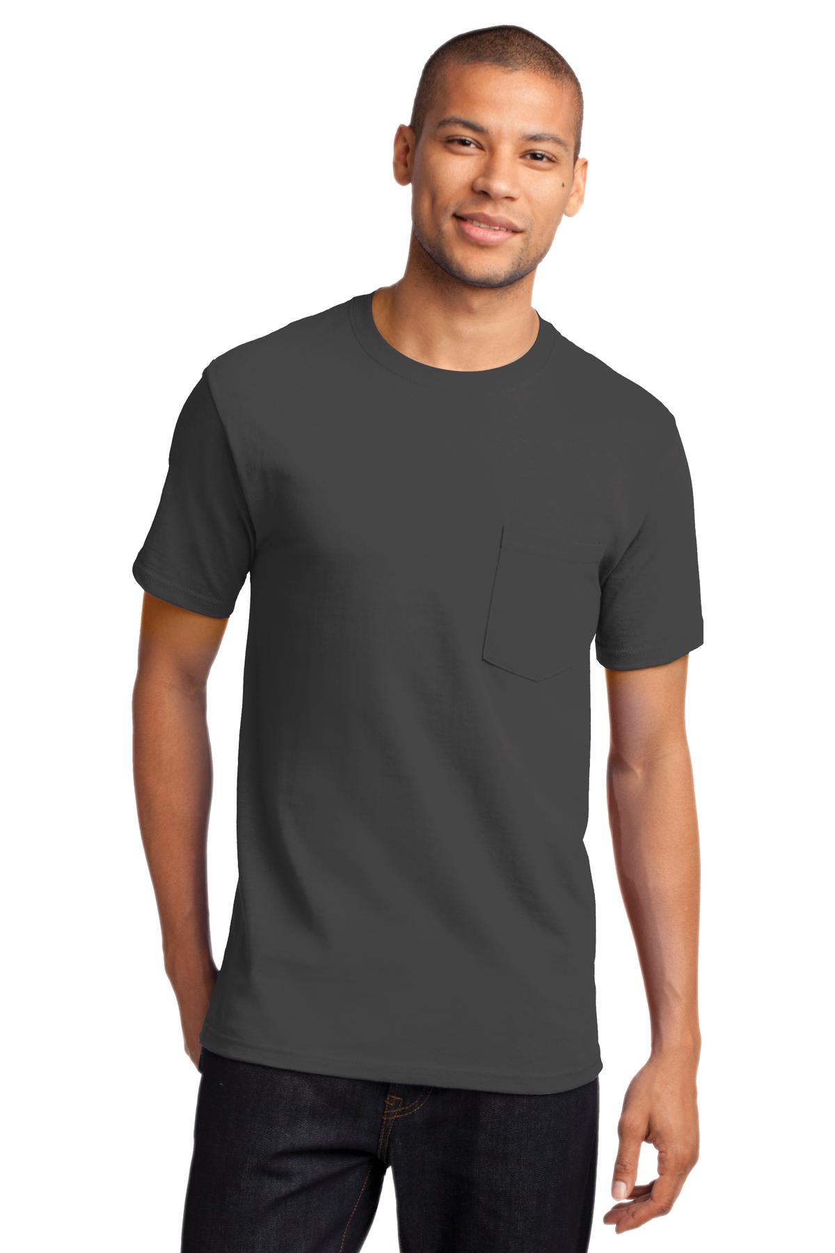 Port and Company - Tall Essential Pocket Tee. PC61PT