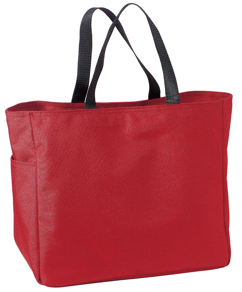 Port Authority ®  -  Essential Tote.  B0750 - Red