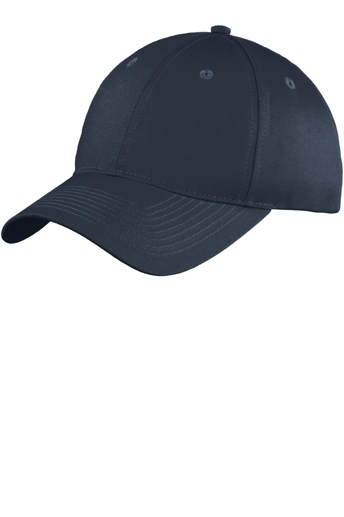 Port & Company Six-Panel Unstructured Twill Cap. C914