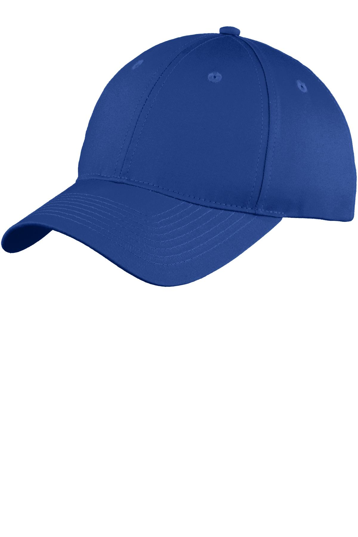 Port & Company ®  Six-Panel Unstructured Twill Cap. C914 - Royal
