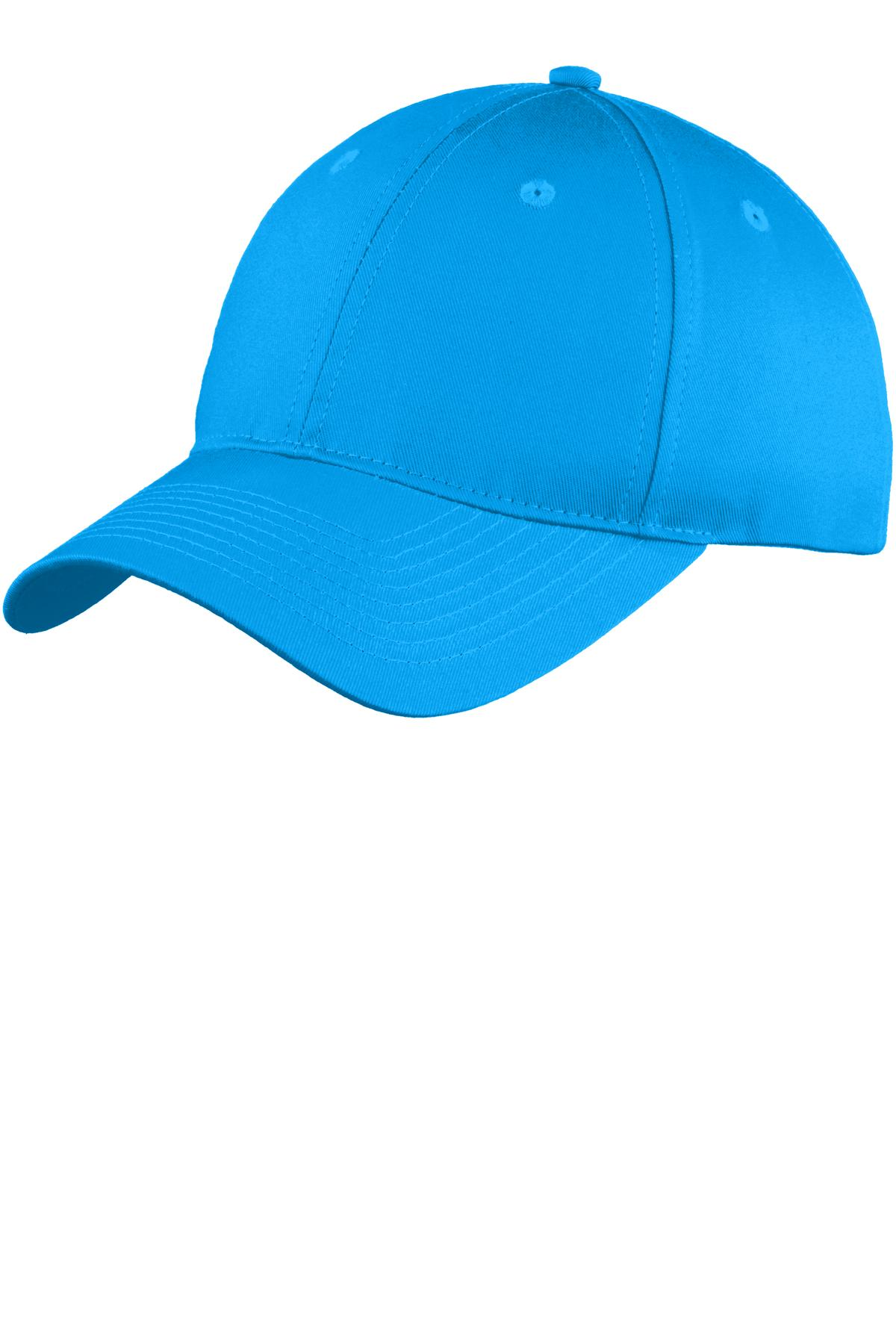 Port & Company ®  Six-Panel Unstructured Twill Cap. C914 - Sapphire