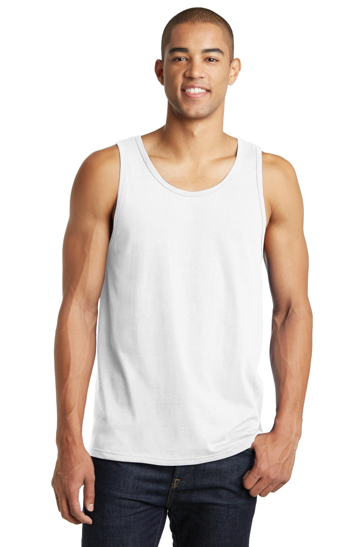 District ®  The Concert Tank ® . DT5300 - White
