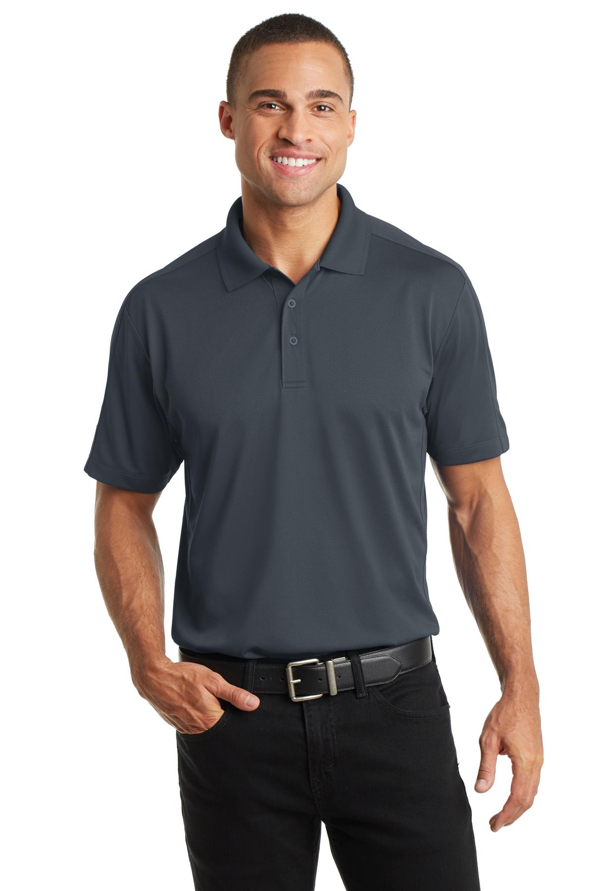 Port Authority Diamond Jacquard Polo. K569
