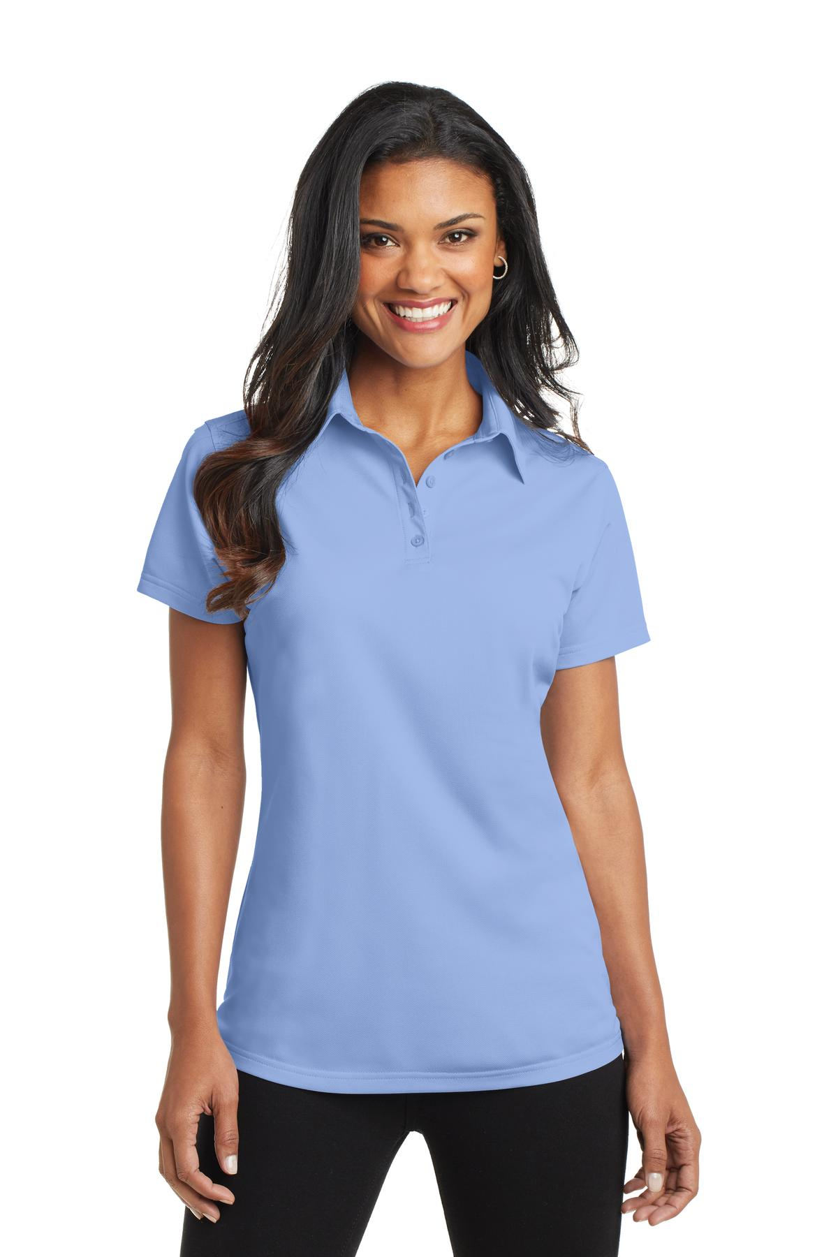 Port Authority ®  Ladies Dimension Polo. L571 - Dress Shirt Blue