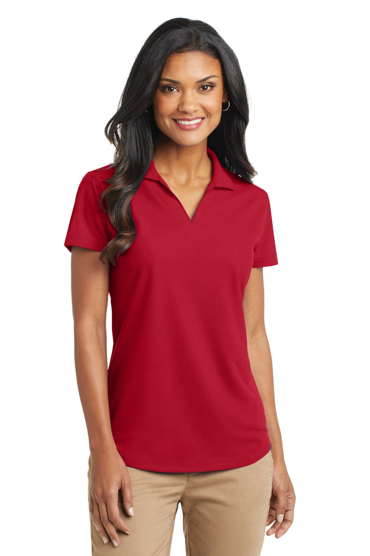Port Authority ®  Ladies Dry Zone ®  Grid Polo. L572 - Engine Red