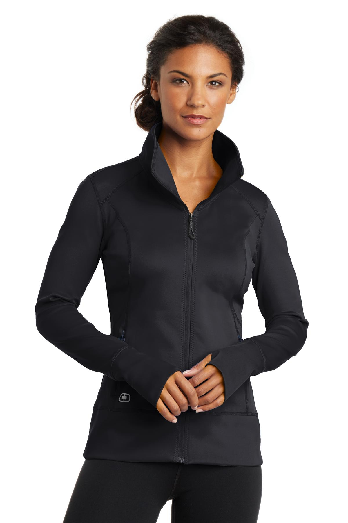 OGIO ®  ENDURANCE Ladies Fulcrum Full-Zip. LOE700 - Blacktop