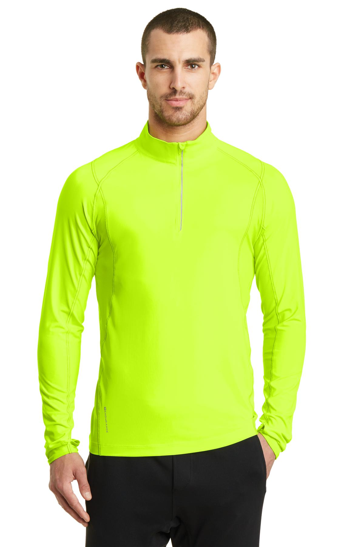 OGIO ®  ENDURANCE Nexus 1/4-Zip Pullover. OE335 - Pace Yellow