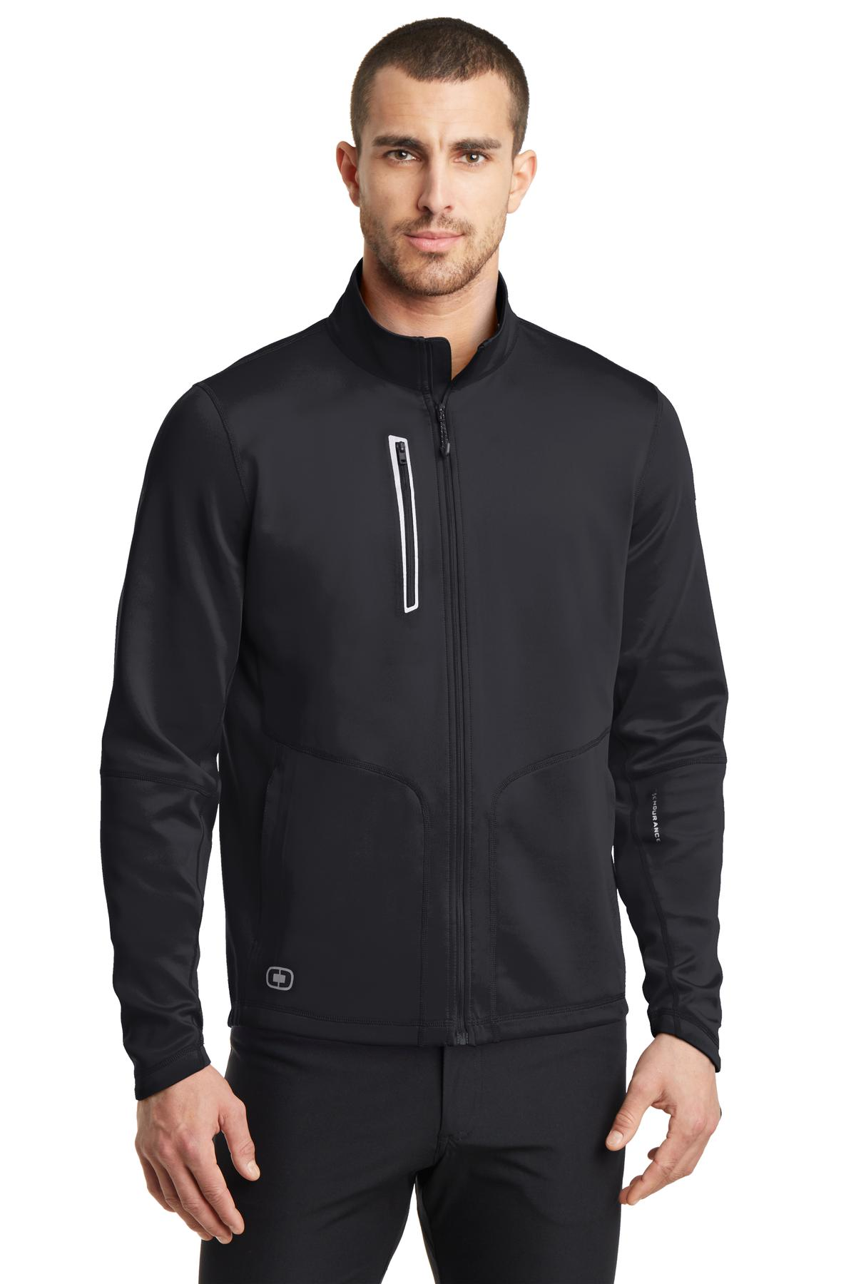 OGIO ®  ENDURANCE Fulcrum Full-Zip. OE700 - Blacktop