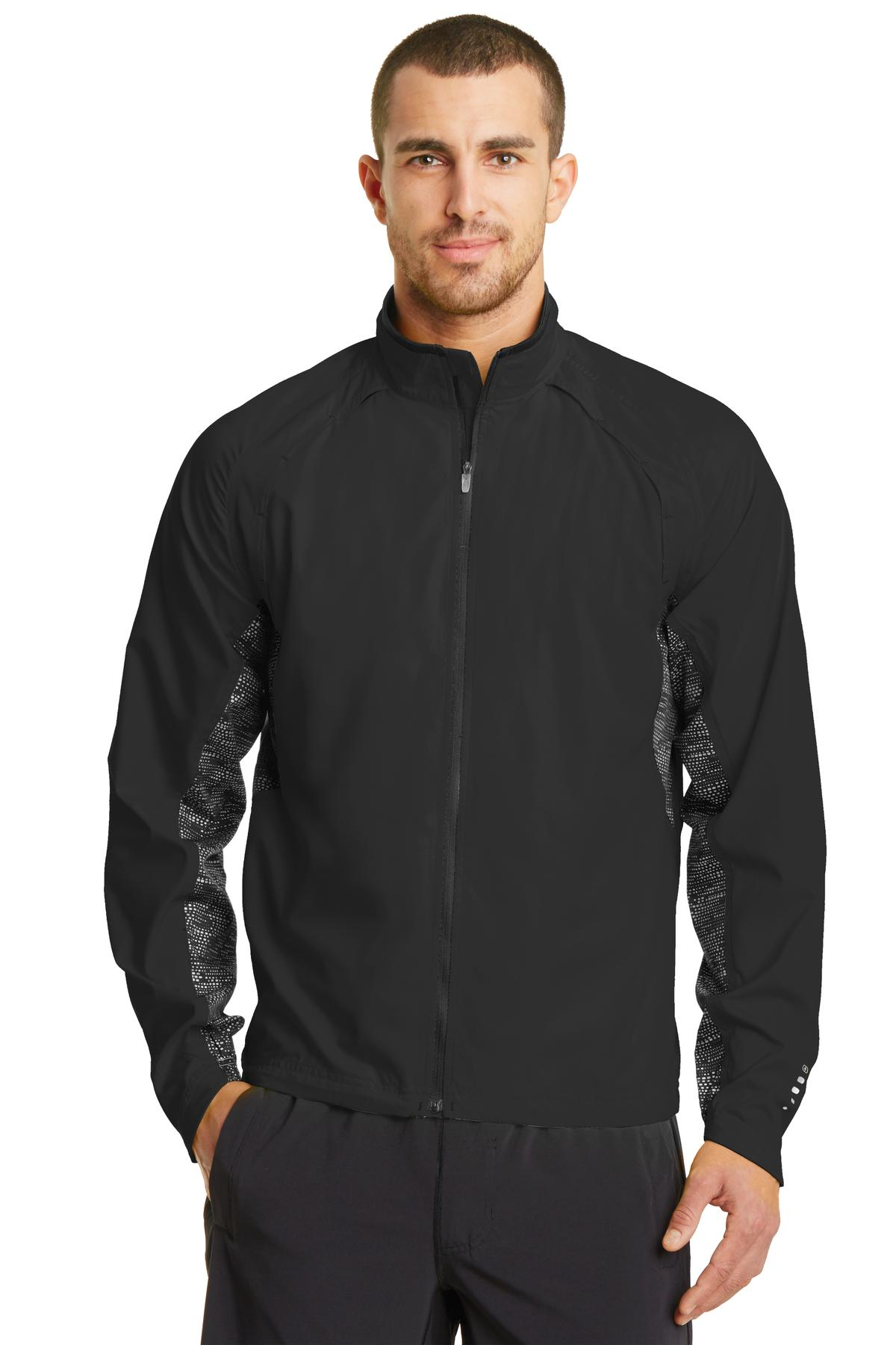 OGIO ®  ENDURANCE Trainer Jacket. OE710 - Blacktop/ Black/ Reflective