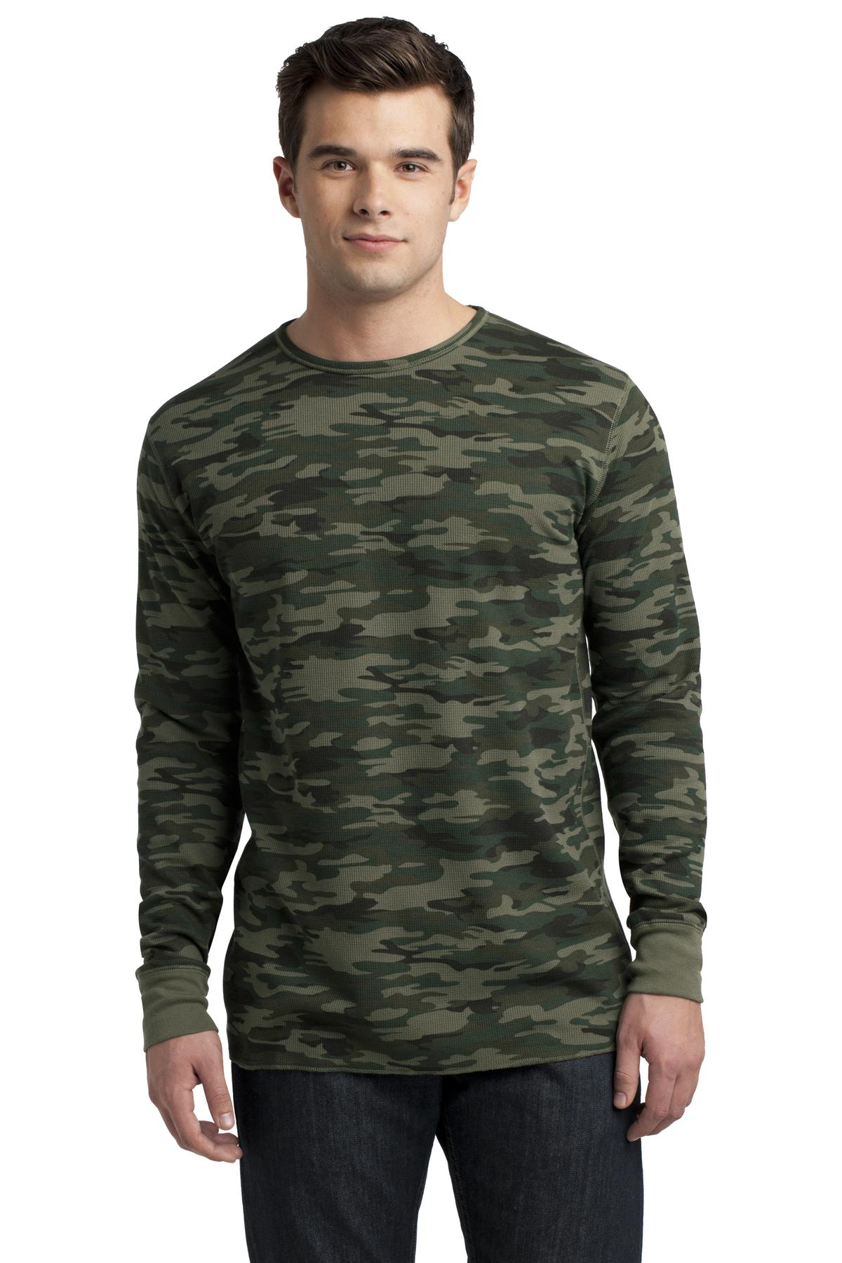 DISCONTINUED District - Young Mens Long Sleeve Thermal.  DT118