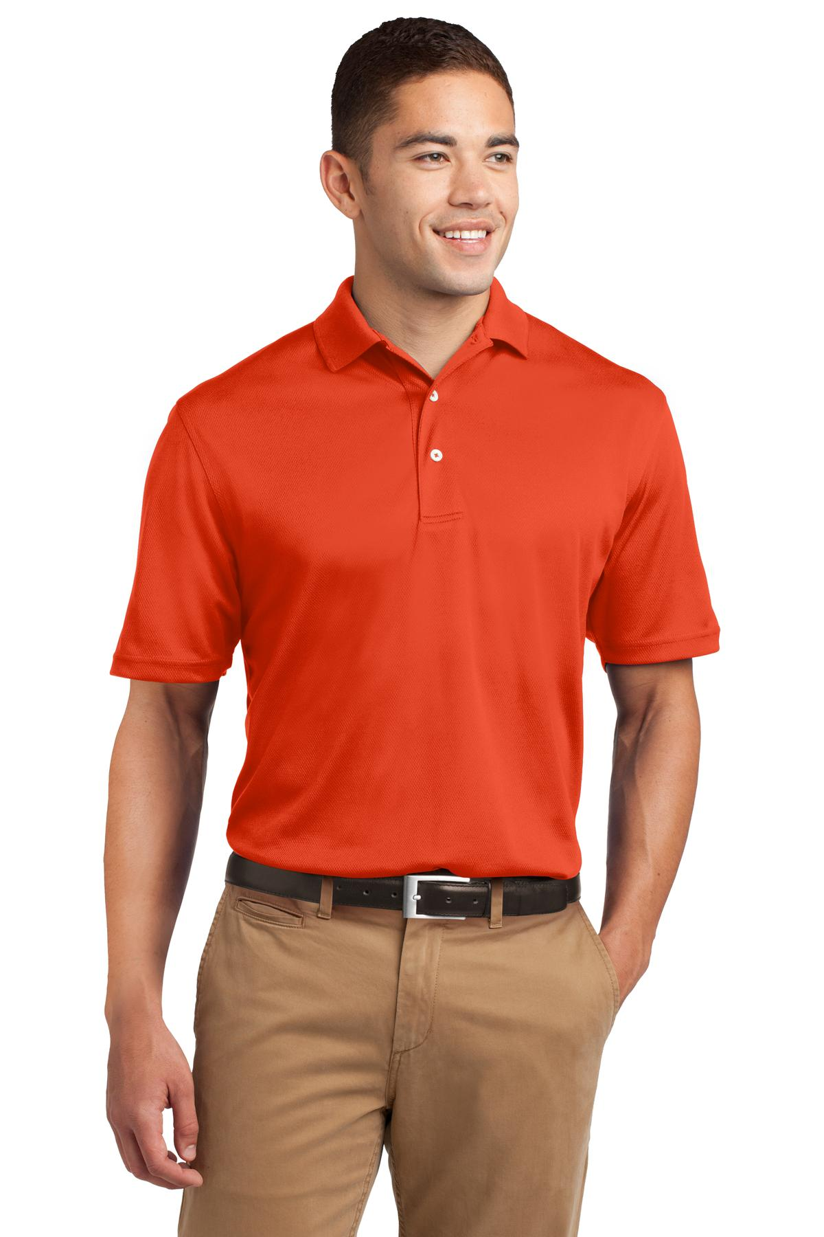 Sport-Tek ®  Dri-Mesh ®  Polo.  K469 - Bright Orange
