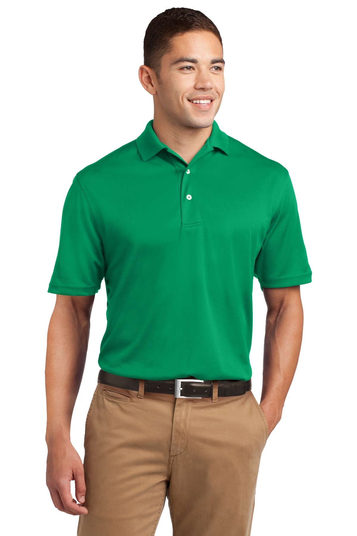 Sport-Tek ®  Dri-Mesh ®  Polo.  K469 - Kelly Green