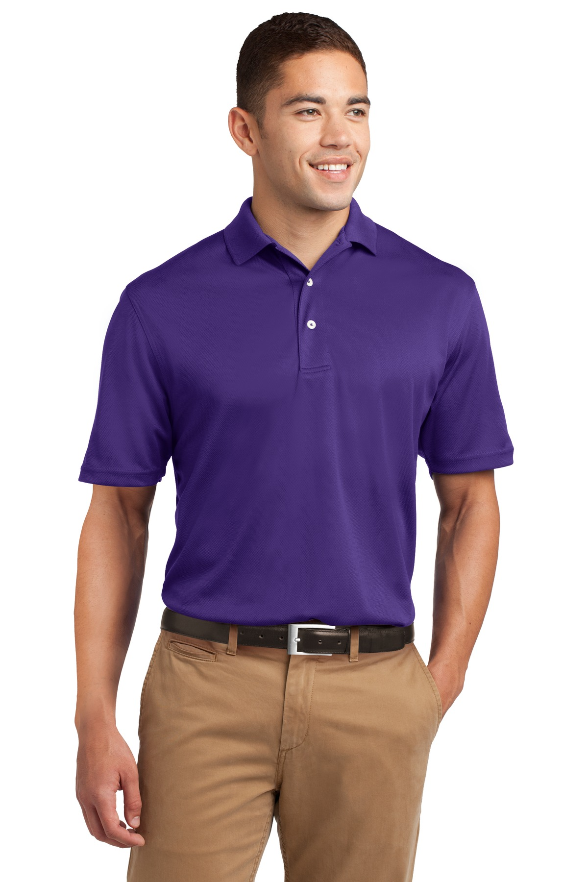Sport-Tek ®  Dri-Mesh ®  Polo.  K469 - Purple