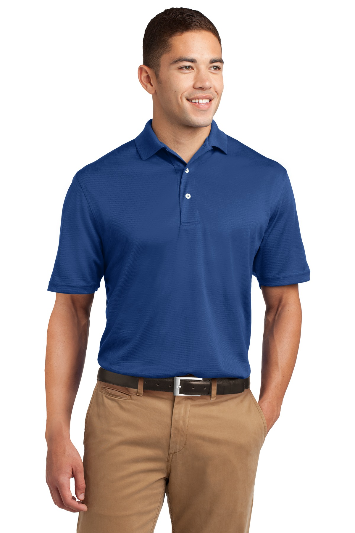 Sport-Tek ®  Dri-Mesh ®  Polo.  K469 - Royal