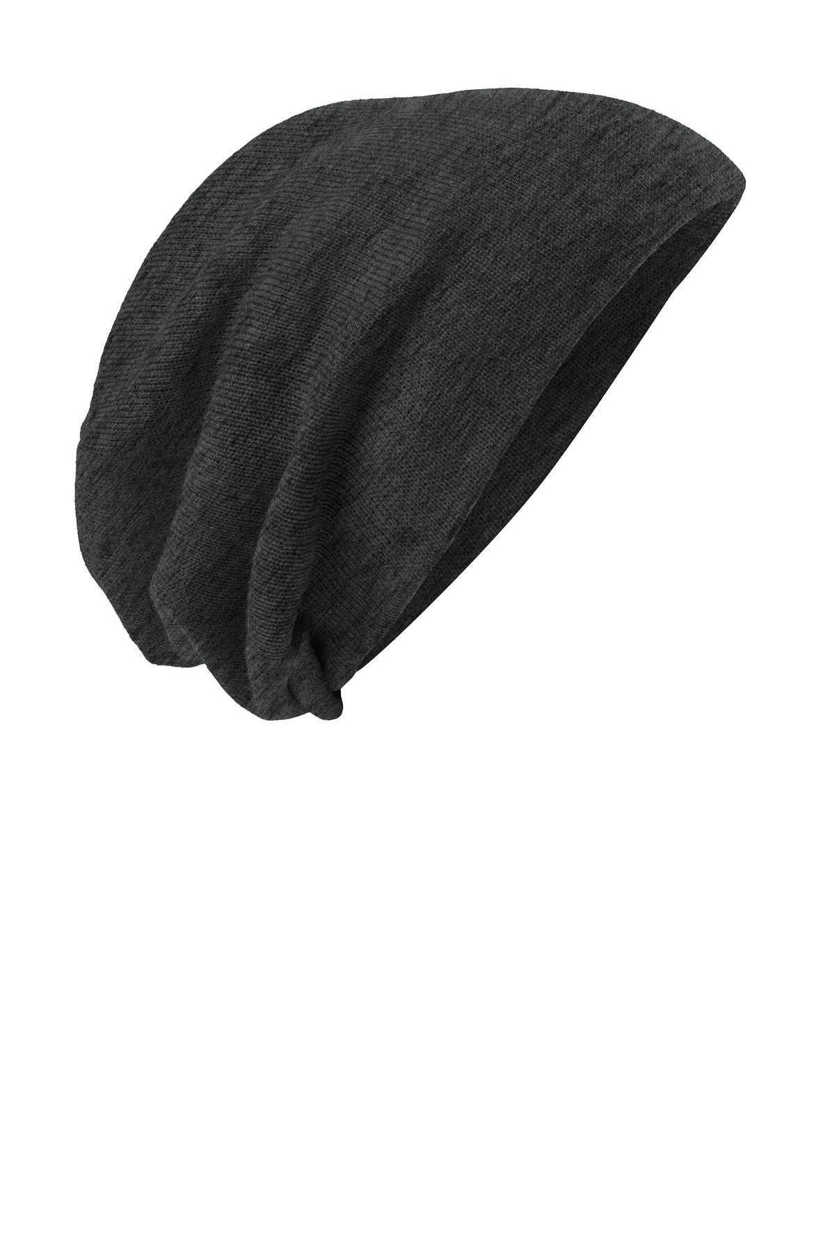 District ®  Slouch Beanie DT618 - Charcoal Heather