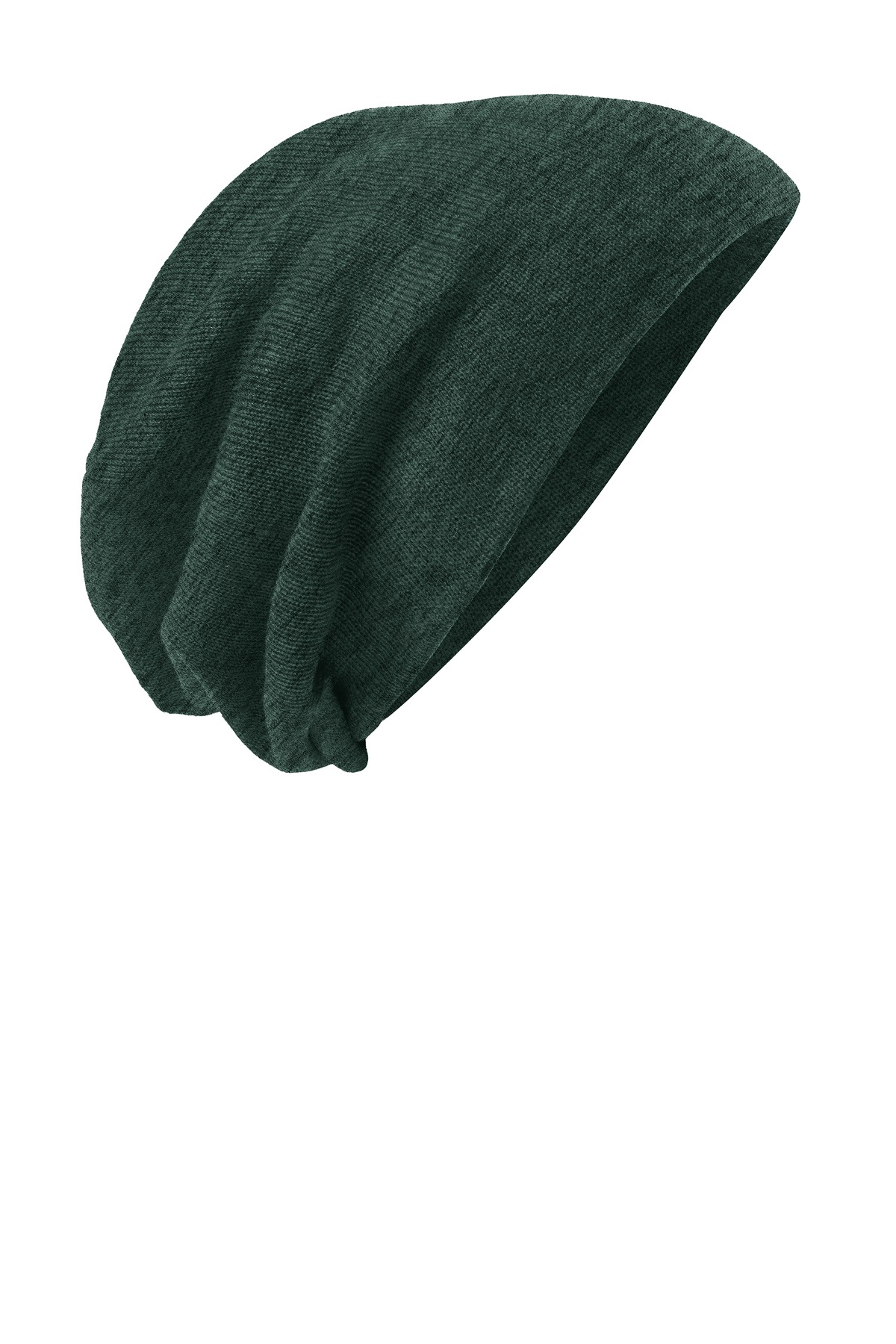 District ®  Slouch Beanie DT618 - Forest Green Heather