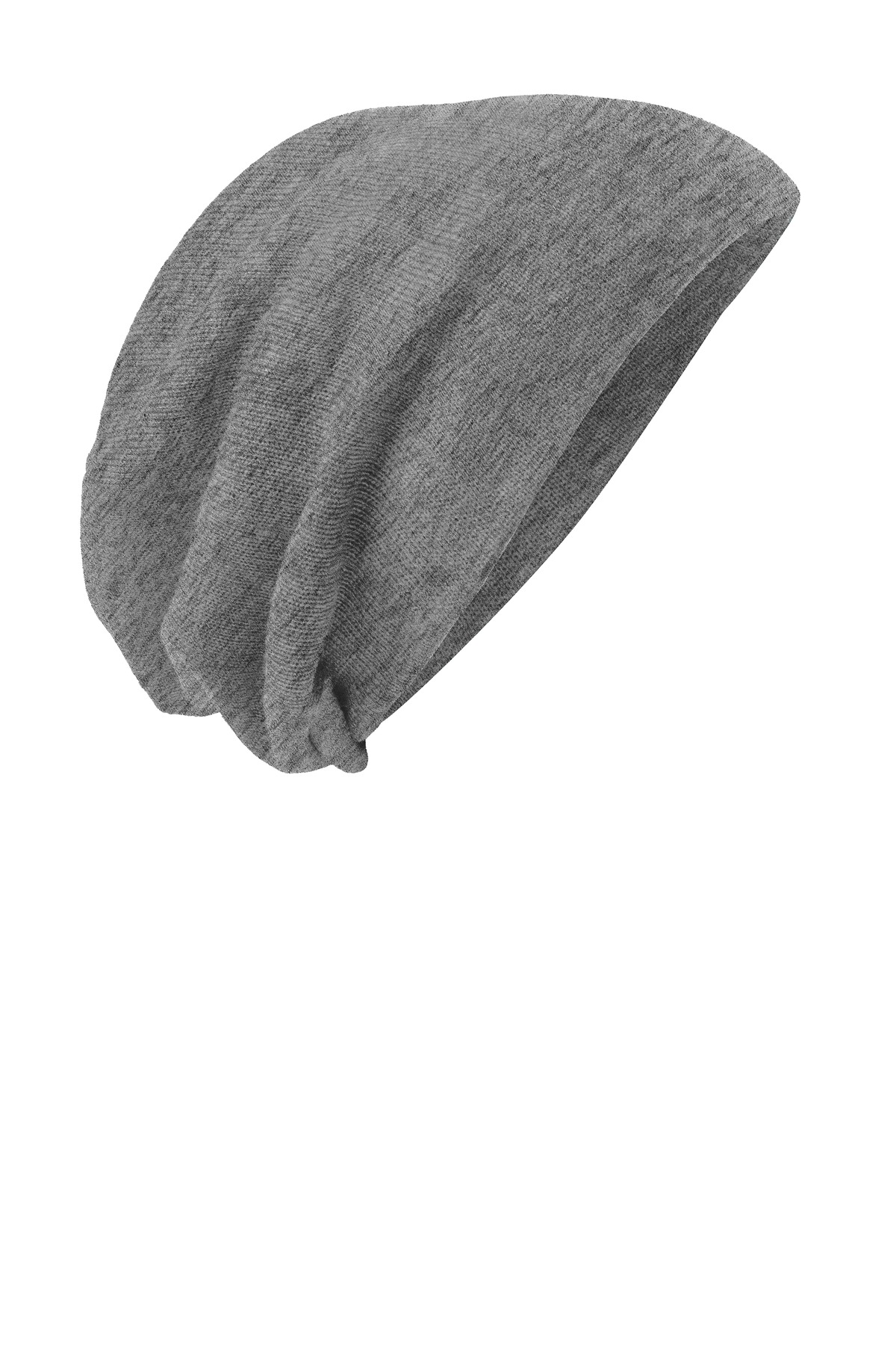 District ®  Slouch Beanie DT618 - Light Grey Heather